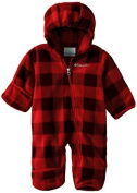 Columbia Baby-Boys Infant Snowtop II Bunting, Bright Red Lumberjack, 18/24 Months Colour