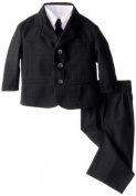 Kizmit Baby-Boys Infant Boy Solid 5 Piece Suit, Navy, 6 Months/Small Colour