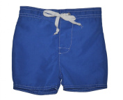 Baby Boys Swim Shorts Plain Blue 6 Months