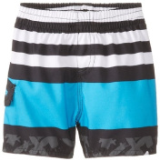 Quiksilver Baby-Boys Infant Way Out Volley Swim Trunks, Black, 18-24 Months Colour
