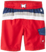Rugged Bear Baby-Boys Infant Cb Swim Trunk, Red, 12 Months Colour
