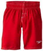 Speedo Little Boys' Learn-To-Swim Volley Trunk, Red Bluff, 3T Colour