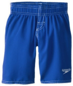 Speedo Little Boys' Learn-To-Swim Volley Trunk, Classic Blue, 2T Colour