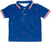 Kapital K Baby Boys' Anchor Print Polo (Baby) - Blue Harbour - 6-9 Months Colour