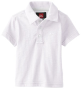 Quiksilver Baby-Boys Infant Get It Polo, White, 12-18 Months Colour