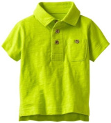 Kitestrings Baby-boys Infant Jersey Polo, Green, 6-9 Months Colour