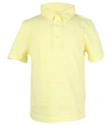 Ruum Baby Boys' Ss Jeresy Polo Sunbleached Yellow 12M Colour