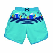 Iplay Ultimate Swim M & M 2014 IP722154-690-42 Boy's Nappy Swim Board Shorts with UV Protection 50+ with Aqua Surf Design Size S