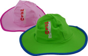 Pink Nalu UV Beach Hat Baby Infant Sun Protection beanie SPF 40+ 0-3 years
