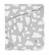 Farg Form Grey Cloud Baby Blanket