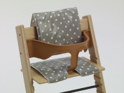 High Chair Cushions for Stokke Tripp Trapp with baby set and Baby Dan style wooden highchairs