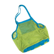 Sand away Carry All Beach Toy Storage Mesh Tote Bag