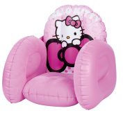 Worlds Apart Hello Kitty Flocked Chair