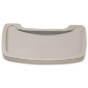 Rubbermaid Commercial Sturdy Chair Baby Seat Tray - Platinum