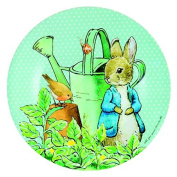 Melamine Peter Rabbit with Watering Can Children's Plate