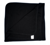 BabywearUK Baby Blanket - Cotton - Black - British Made
