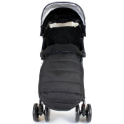 XXL Large Luxury Foot-muff And Liner For Maclaren Techno XT - Black