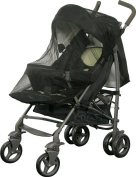 Helly BS 519, Mosquito Net for Hooded Buggies, Black