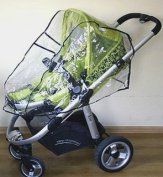 Universal Pushchair Rain Cover Will Fits Three Wheeled Prams And Buggies