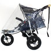 UNIVERSAL 3 WHEELER RAINCOVER TO FIT QUINNY SPEEDI