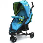 iSafe Visual 3 Apple Slice Three Wheeler Stroller