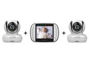 Motorola MBP36s -2 Camera Video Baby Monitor
