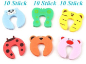 tinxi® Cute Animal Designs Baby Kids Door Stopper Jammer Finger Pinch Guard Child Toddler Infant Safety Protector
