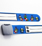 Infoband Wrist Band for Kids - Knights - Blue