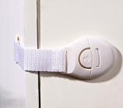 10 pcs Baby Kid Cabinet Door Drawer Refrigerator Toilet Safety Lock Plastic