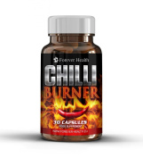 CHILLI BURNER - Burn Through Fat Like WILDFIRE ! - Lose Up 5 Kilos In 12 Weeks ! Specially Formulated To Increase THERMOGENESIS Which Causes Your Body to Raise METABOLISM and Burn Fat FAST ! Contains GREEN TEA and CAPSICUM or CHILLI PEPPER and Burns Th ..