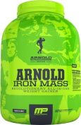 Iron Mass, Banana Cream - 4540 grammes by Arnold Schwarzenegger Series mm