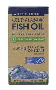 Wiley's Finest Fish Oil Easy Swallow minis - 180 caps