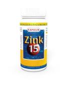 3 Pack Zinc Gluconate 15Mg 300 Capsules Vita World German Pharmacy Production