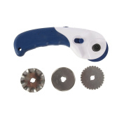 Silverline 734783 3-in-1 Rotary Cutter, 1-3/4-Inch