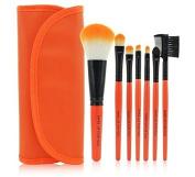 Orange Real TECHNIQUES Makeup Core Collection/Starter Kit/Travel Essentials Brush Sets