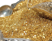 Gold Fusion - Glass Glitter - 30ml Jar