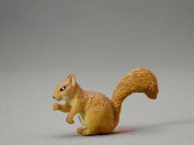 Toy Squirel - hard PVC resin plastic toy 1pc