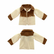 Doll Clothes - Beautiful Cowboy Jacket - Sweater Fits American Girl Dolls, Madame Alexander and other 46cm Dolls