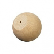 Wood Ball Knob / Doll Heads-Bag of 100