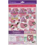 Faberdashery A4 Card Kit-Patchwork Frame Box