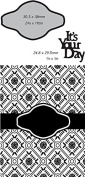 Ultimate Crafts 2-in-1 Embossing Folder, Its Your Day