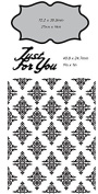 Ultimate Crafts 2-in-1 Embossing Folder, Just for You