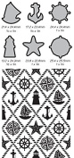 Ultimate Crafts 2-in-1 Embossing Folder, Ships Ahoy