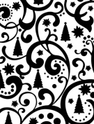 Ultimate Crafts Embossing Folder, 10cm by 15cm , Christmas Tree Flourish