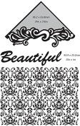 Ultimate Crafts 2-in-1 Embossing Folder, Beautiful-Delilah