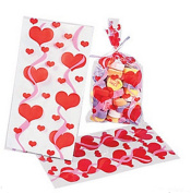 Cellophane Valentine Mini Goody Bags