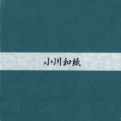 Ogawa(hosokawa) Washi Single Colour Paper 25cm(9.84 In), No.27 Green, 50sheets