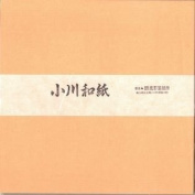 Ogawa(hosokawa) Washi Single Colour Paper 25cm(9.84 In), No.8 Pale Orange, 50sheets