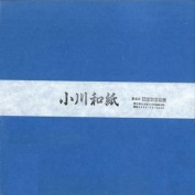 Ogawa(hosokawa) Washi Single Colour Paper 25cm(9.84 In), No.16 Sky Blue, 50sheets