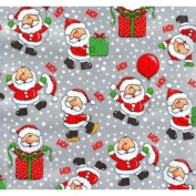 Lil Santas Christmas Gift Wrapping Paper -60cm x 9.1m Roll